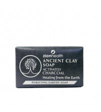 Ancient Clay Soap Activated Charcoal 6 oz