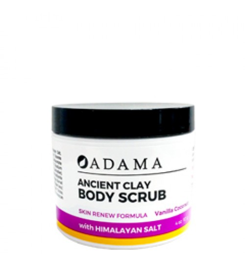 Adama Body Scrub - Vanilla Coconut  - 4oz