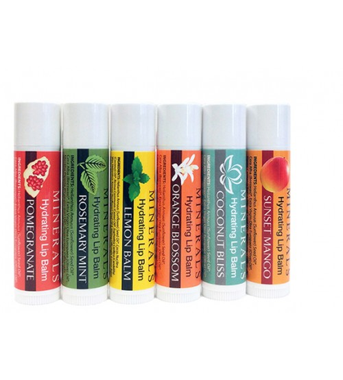 Lip Balm - Set of Six