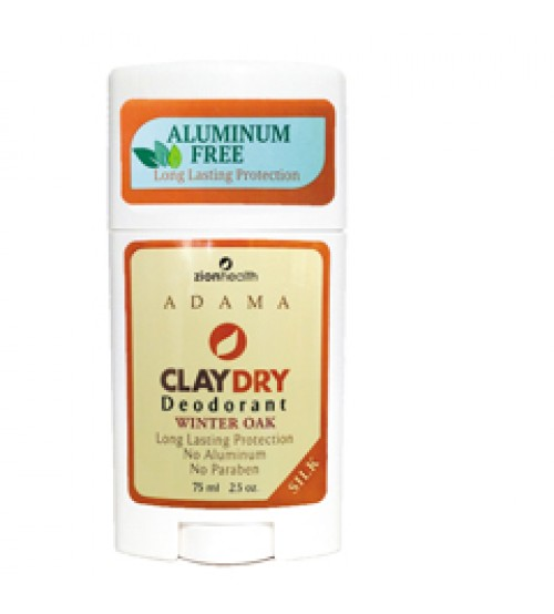 Clay Dry Silk - Winter Oak Natural Deodorant Athletic Protection