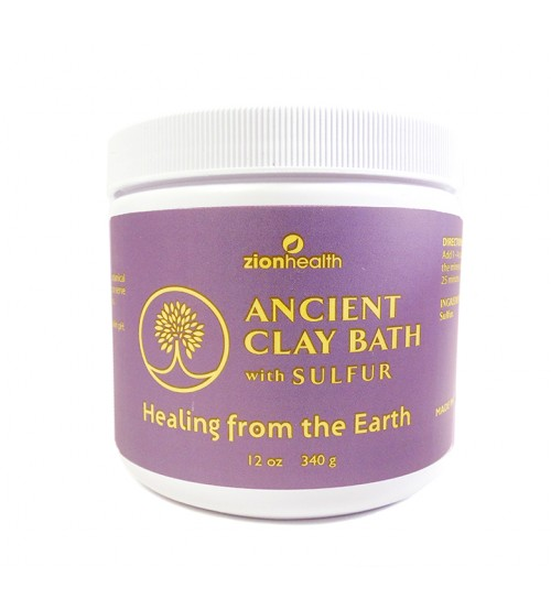 Ancient Clay Bath - Sulfur 12oz