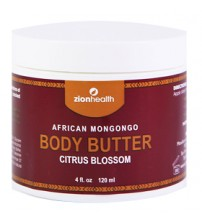 African Mongongo Oil Body Butter-  Citrus Blossom
