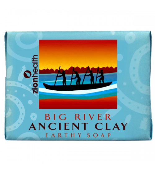 Ancient Clay Big River Soap 10.5 oz