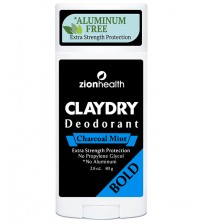Clay Dry Bold - Charcoal Mint Deodorant 2.8 oz.