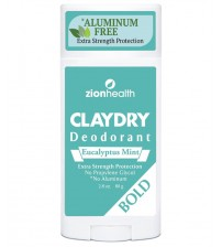 Clay Dry Bold - Eucalyptus Mint - NEW Invigorating And Refreshing Scent! 2.8oz.