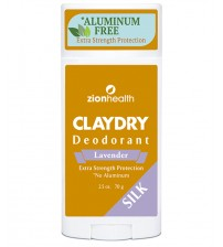 Clay Dry Silk - Lavender Natural Deodorant No Aluminum