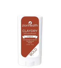 NEW Travel Size Clay Dry Bold - Original Vegan Deodorant 0.70 oz.