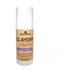 Clay Dry Roll On - Aluminum Free Deodorant