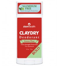 Clay Dry Bold - Green Pear Natural Deodorant