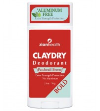 Clay Dry Bold - Patchouli Breeze Natural Deodorant
