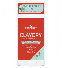 Clay Dry SIlk - Patchouli Breeze Vegan Deodorant
