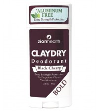 Clay Dry Bold - Black Cherry Natural Deodorant 2.8oz.