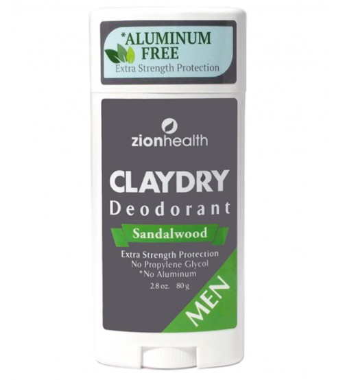 Clay Dry Bold - Sandalwood For Men 2.8oz. NEW IMPROVED FORMULA FOR ALL DAY PROTECTION