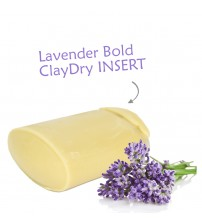 Clay Dry Deodorant INSERT – Lavender BOLD