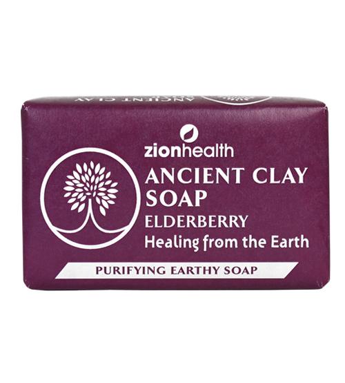 Ancient Clay Soap - Elderberry 6oz