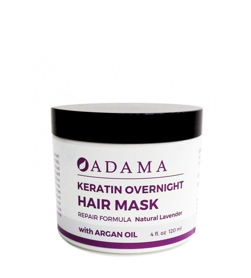 Zion Health Keratin Hair Mask with Argan Oil - Natural Lavender Scent