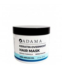 Zion Health Keratin Hair Mask with Argan Oil - White Coconut Scent