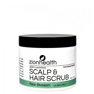 Deep Cleansing Scalp & Hair Scrub Pear Blossom with Sea Salt