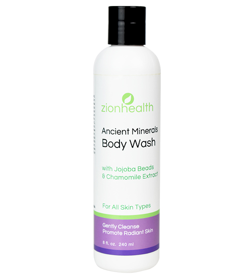 Zion Health Clay Body Wash 8oz