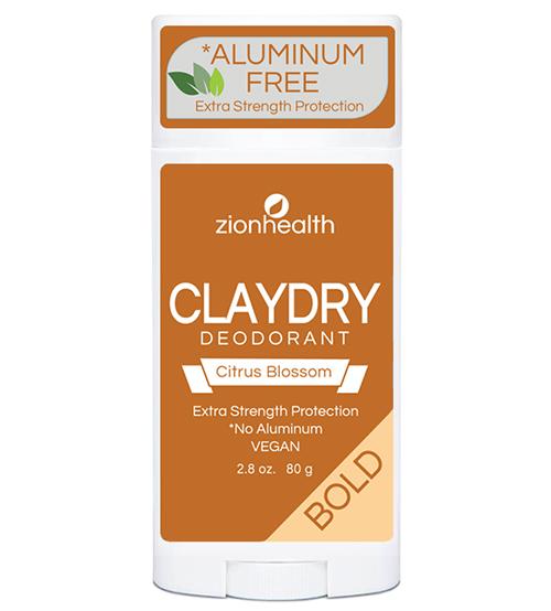 Clay Dry Solid - Citrus Blossom Vegan Deodorant