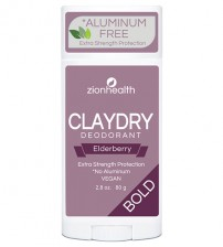 Clay Dry Bold - Elderberry Deodorant 2.8oz.