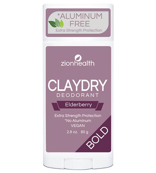 Clay Dry Bold - Elderberry Deodorant 2.8oz.