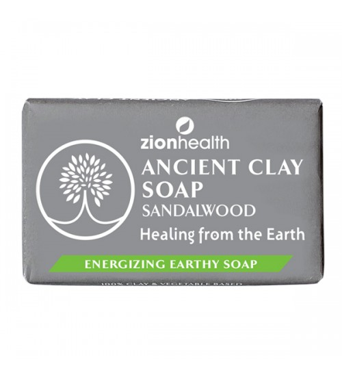 Ancient Clay Soap - Sandalwood 6oz