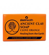 Ancient Clay Soap  -  Clove Orange 6oz.