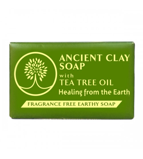 Ancient Clay Soap with Tea Tree Oil 6oz