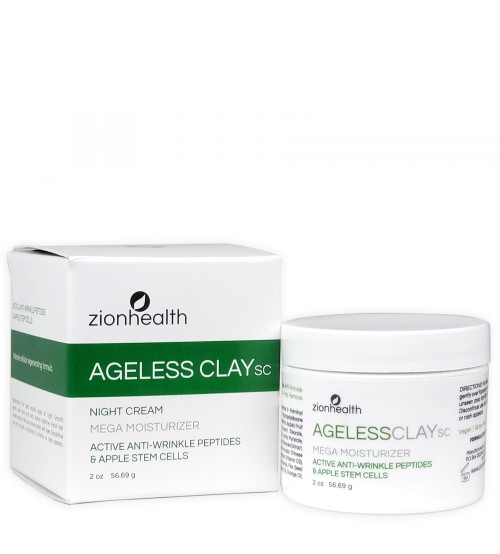 Ageless Clay SC - Mega Moisturizer 2oz with Apple Stem Cells