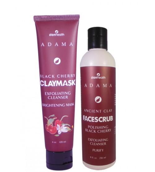 Face Magnificence- Black Cherry Mask & Scrub Combo