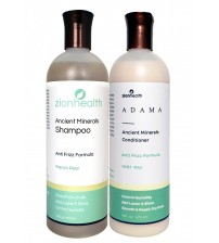 Adama Minerals Anti- Frizz Hair Care Package
