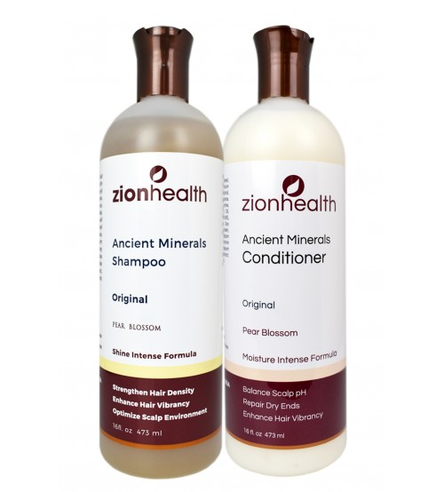 Zion Health Minerals Original Hair Care Package