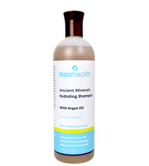 Zion Health Minerals Hydrating Shampoo with Argan Oil - 16oz