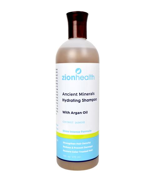 Adama Minerals Hydrating Shampoo with Argan Oil - 16oz
