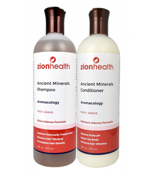 Adama Minerals Aromacology Hair Package
