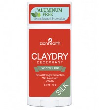Clay Dry Silk - Winter Oak Vegan Deodorant