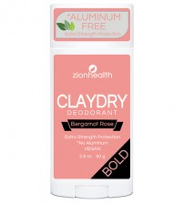 Clay Dry Bold - Bergamot Rose 2.8oz.