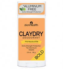 Clay Dry Bold - Honeysuckle Deodorant 2.8oz.
