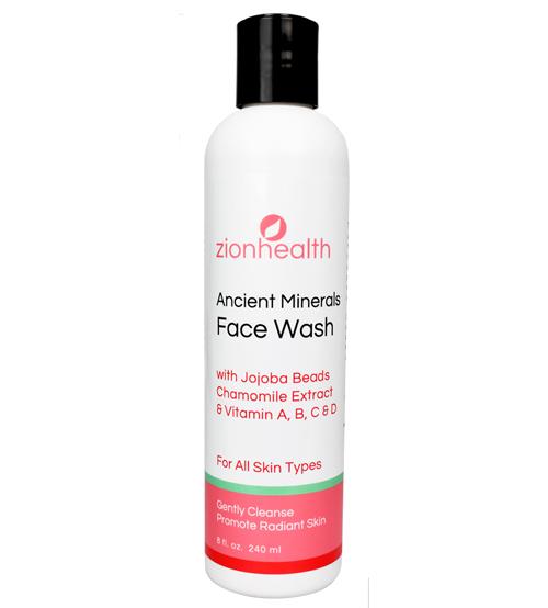 Zion Health Clay Face Wash 8oz