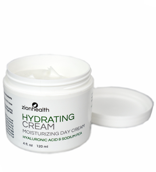 Hydrating Cream Moisturizing Day Cream - Hyaluronic Acid & PCA 4oz.