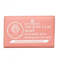 Ancient Clay Vegan Soap - Bergamot Rose 6oz