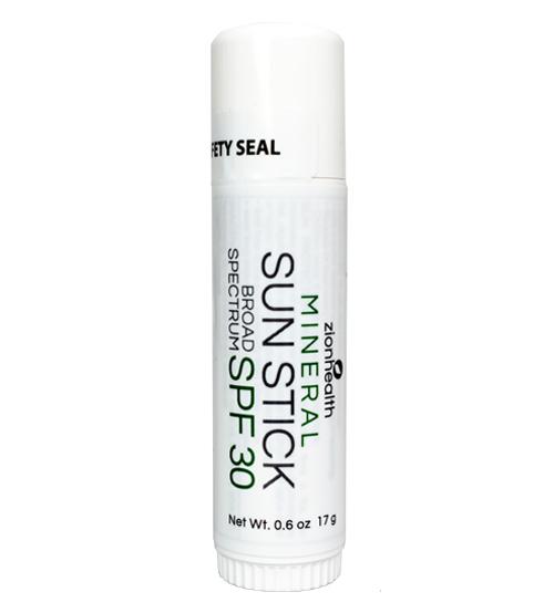 Zion Health Mineral Sun Stick SPF 30 - 0.60 oz