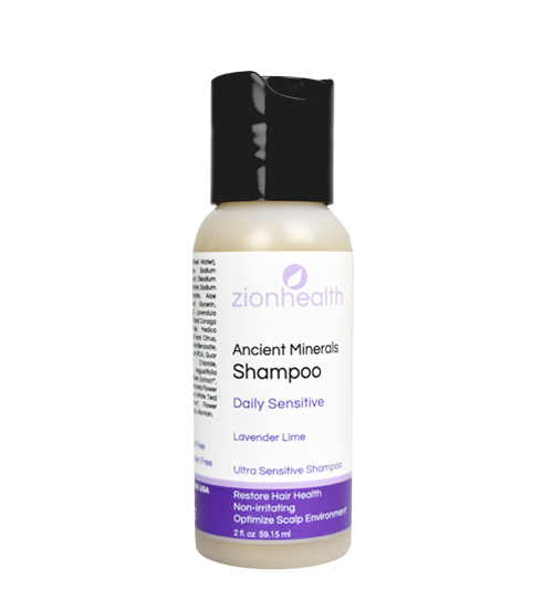 Zion Health Daily Sensitive Shampoo 2oz