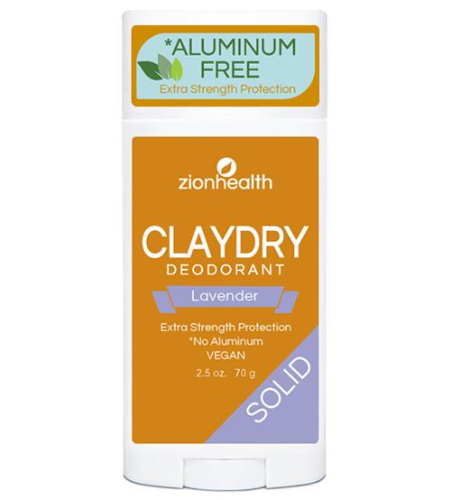 Clay Dry Solid - Lavender Vegan Deodorant