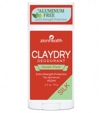 Clay Dry Silk - Green Pear Vegan Deodorant