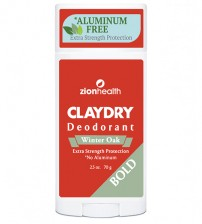 Clay Dry Bold - Winter Oak Vegan Deodorant