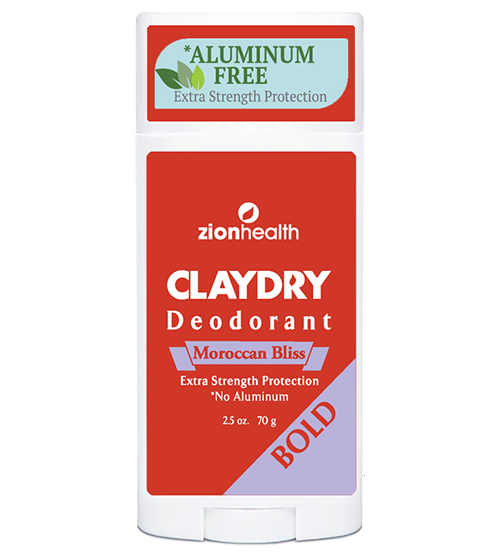 Clay Dry Bold - Moroccan Bliss Vegan Deodorant