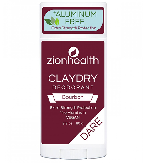Clay Dry Dare - Bourbon Scent Vegan Deodorant 2.8 oz.