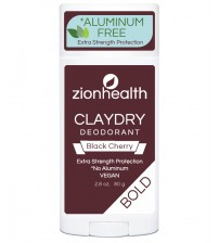 Clay Dry Bold - Black Cherry Vegan Deodorant 2.8oz.